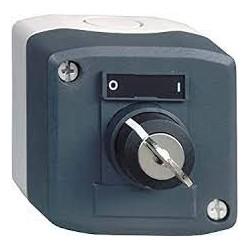 boite 1 bouton a clé