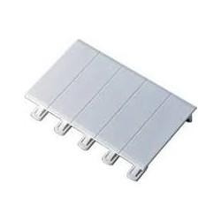 Obturateur 5 modules blanc