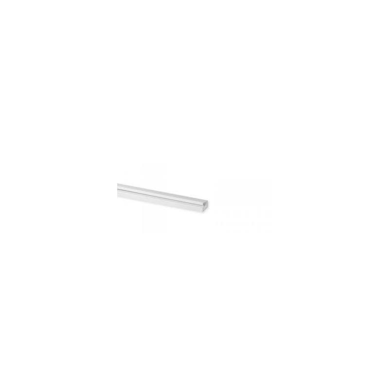 Plaque finition 1 poste blanc