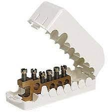 Cosse à sertir 35mm² trou Ø 8 (x10)